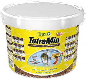 Aliment complet pour poissons tropicaux - TetraMin Flakes - 10 L