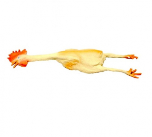 Jouet poulet pour chien - En latex - 44 cm