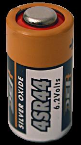 Piles x2 pour collier anti-fugue - LACME - 6 V