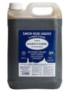 Savon noir liquide huile d'olive - Marius Fabre - 5 L
