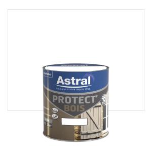 Peinture Protect'Bois - Astral - Satin - Base white - Blanc - 0.5 L