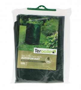 Sac à déchets autoportant - Teragile - Vert - 150 L