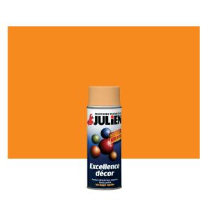 Aérosol peinture - Excellence Décor - Orange Fluo - 0.4 L