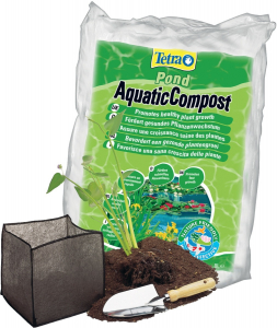 Tetra Pond Aquatic Compost - Compost pour plantes aquatiques de bassin - 8 L