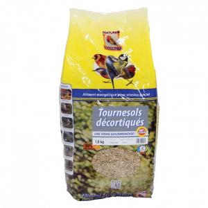 Tournesols décortiqués pour oiseaux - Natures Market - sac de 1,8 kg
