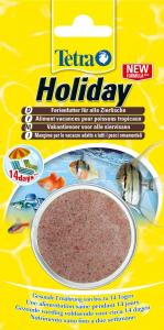 """Tetra Holiday - Aliment """"Vacances"""" pour poissons tropicaux - 30 g"""