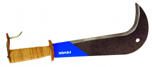 Serpe à soie - Revex - Manche cuir - 28 cm