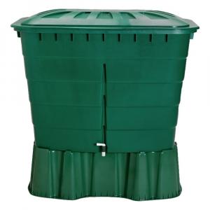 Récupérateur d'eau Cuve rectangulaire verte GRAF - 520 L