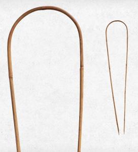Tuteurs arceaux bambou x3 - Nortene - 1,20 m