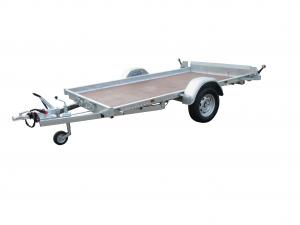 Remorque plateau - Lider - Robust 37380.1 - 3 m - 1000 Kg - 1 essieu