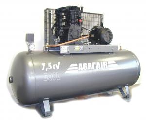 Compresseur - 500 litres - 7.5 CV - Triphasé
