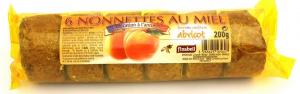 Nonnettes au miel fourrée à la confiture d'abricot - Finabeil - x6 - 200 gr