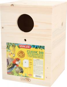 Nichoir Classic 350 Zolux - Pour callopsyte, omnicolore et autres grandes perruches