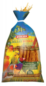 Millet rouge d'Anjou 500 g Zolux - Graines pour oiseaux