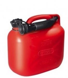 Jerrycan pour carburant - Oregon - rouge - 5L