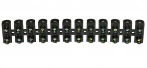 Barrette de connexion - 25 mm² - Noire