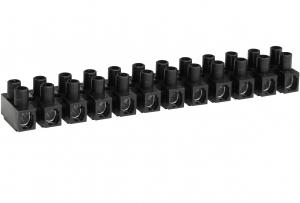Barrette de connexion - 10 mm² - Noire