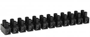 Barrette de connexion - 6 mm² - Noire
