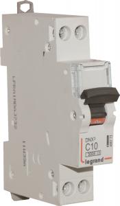 Disjoncteur Phase + Neutre - Le Grand - 10 A - bornes à vis - 1 module