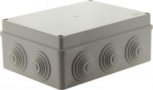 Boite de dérivation étanche - Voltman - 190 x 140 x 70 mm - IP55