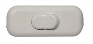Interrupteur Pour lampe 2 A - Blanc