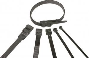 Colliers de serrage - 280 x 3.5 mm - x 100