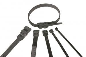 Colliers de serrage - 140 x 3.5 mm - Noir - x 100