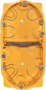 Boîte à encastrer Batibox plaque de plâtre - Le Grand - 2 postes - Profondeur 40 mm