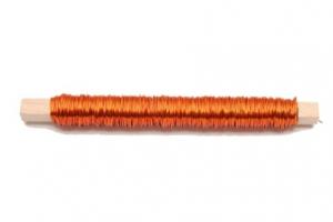 Fil en aluminium - Horticash - orange - Ø 0.5 mm