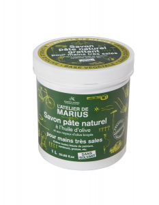 Savon pâte grattant huile d'olive - Marius Fabre - 1 L