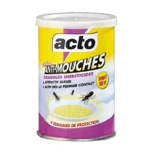 ACTO Granulés ANTI-MOUCHES - SOJAM