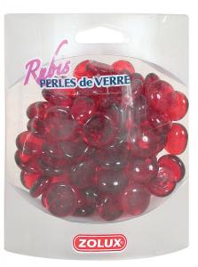 Perles de verre Rubis Zolux - 390 g