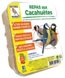 Repas aux cacahuètes pour oiseaux - Natures Market - 315 gr