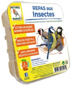 Repas aux insectes pour oiseaux - Natures Market - 315 gr
