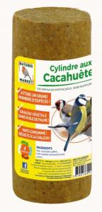 Cylindre Prêt à l'emploi aux cacahuètes pour oiseaux - Natures Market - 440 gr