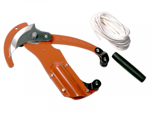 Echenilloir triple démultiplication + corde 5 m + poignée - Bahco