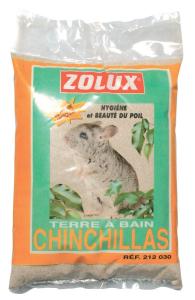 Terre à bain pour chinchillas Zolux - 2 kg