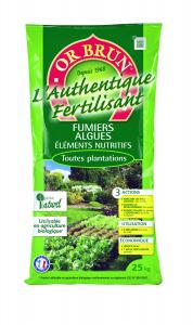 L'Authentique Fertilisant 25 KG - Or Brun