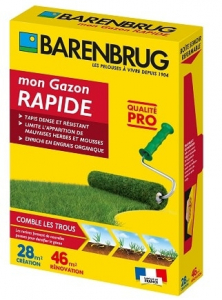 Gazon rénovation rapide - Barenbrug - 1kg