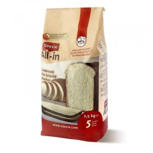 Farine All-in pour pain brioché - Soezie - 2,5 kg