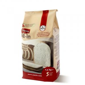 Farine All-in pour pain blanc - Soezie - 2,5 kg