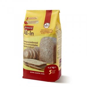 Farine All-in pour pain multi-céréales - Soezie - 2,5 kg