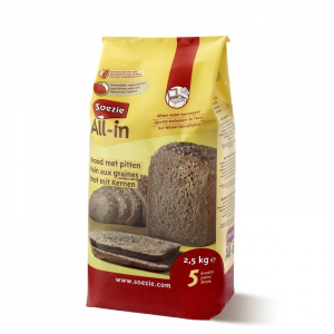 Farine All-in pour pain aux graines - Soezie - 2,5 kg