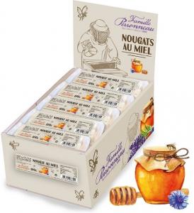 Nougats au miel - Famille Perronneau - 100 gr