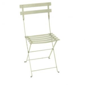 Chaise pliante Bistro - Fermob - Métal - Tilleul