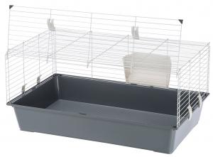 """Cage """"Rabbit 100 EL"""" pour lapins et cochons d'Inde - Ferplast"""