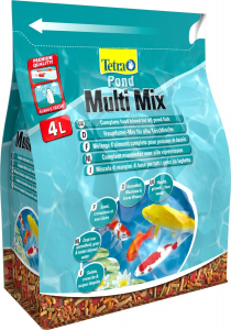 Pond Multi Mix Tetra 4 L - Mélange d'aliments complets pour poissons de bassin