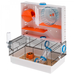 Cage pour hamsters Olimpia - Ferplast - 46 x 29,5 x h 54 cm