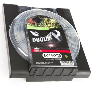 Fil pour débroussailleuse Duoline - Oregon - nylon - 3mm x 60m