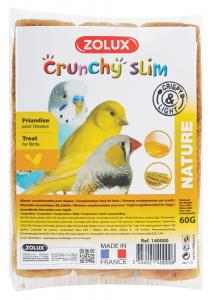 Crunchy Slim Nature Zolux 3 x 20 g - Biscuits pour oiseaux